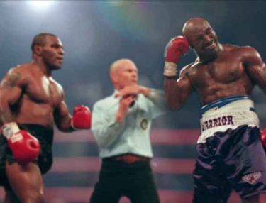 Mike Tyson Bit Evander Holyfield's Ear Off