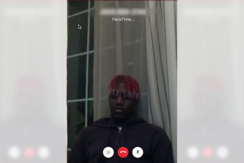 Lil Yachty Calls Fans on Facetime