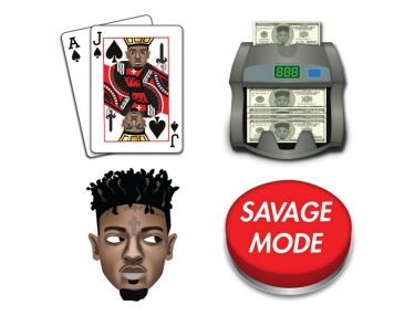 21 Savage Issa Emoji Set