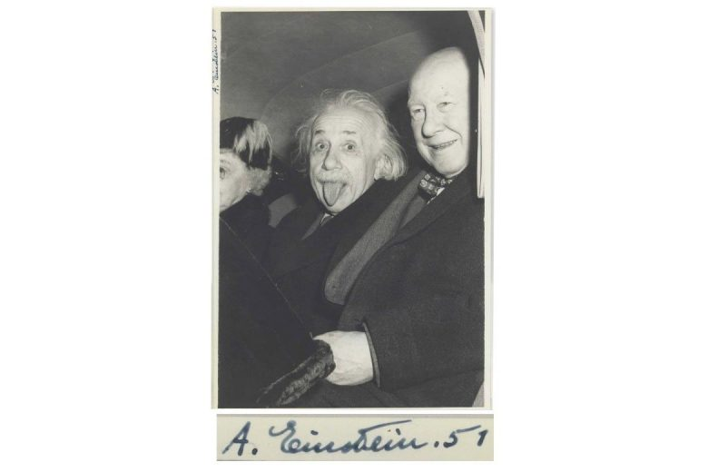 Albert Einstein auction