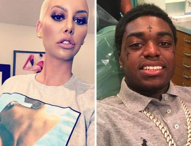 Amber Rose and Kodak Black