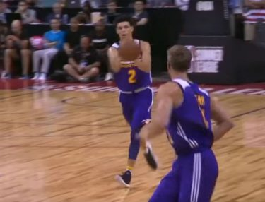 Lonzo Ball Triple-Double