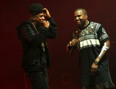 Jay-Z and Kanye West