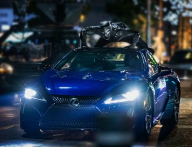 Marvel & Lexus Black Panther partnership