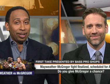 Mayweather-McGregor ESPN First Take