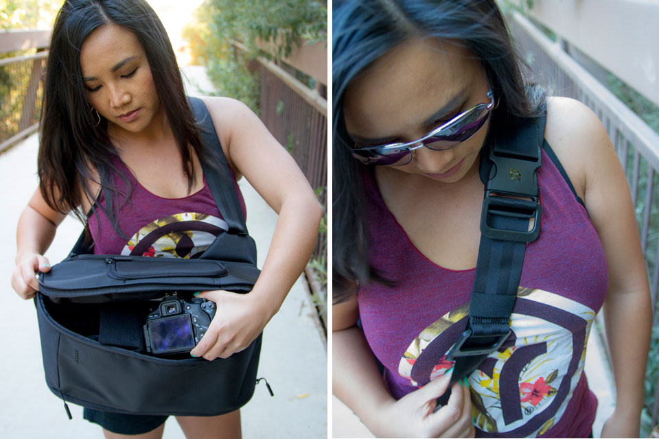 Incase S Capture Sling Pack On The Go Storage Made Easy