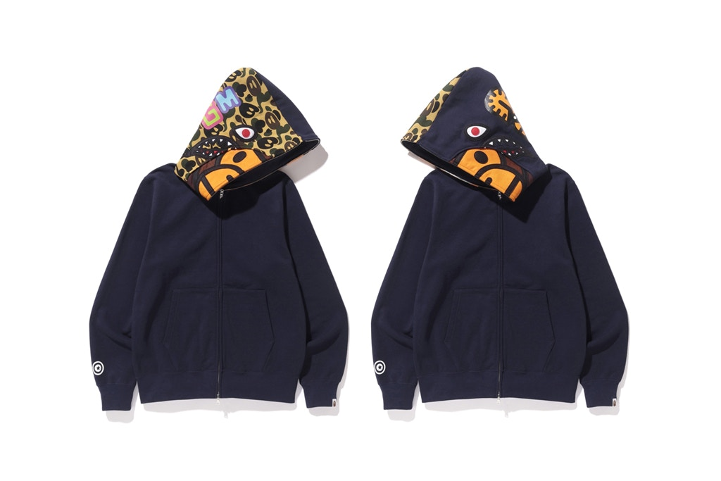 BAPE Baby Milo Camo Shark Collection