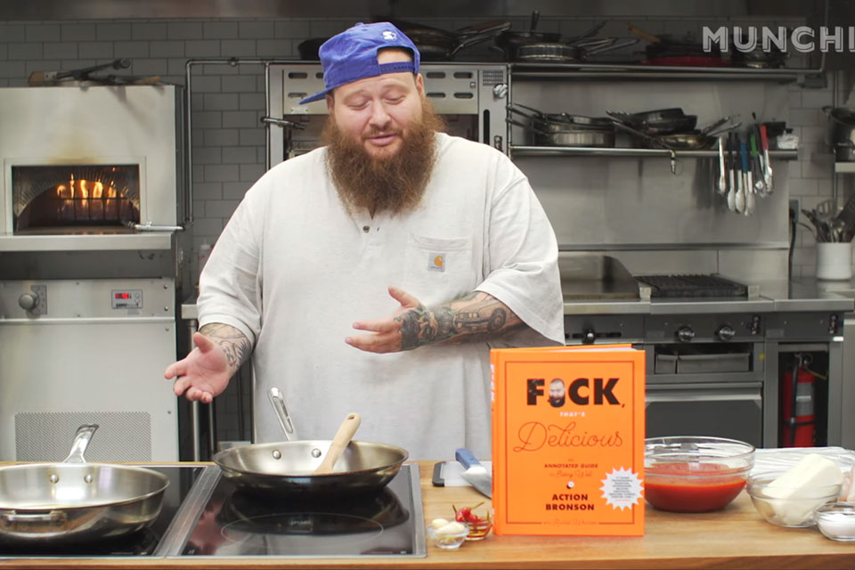 Action Bronson F*ck That's Delicious Cookbook