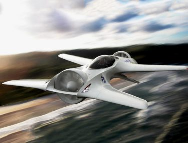 DeLorean Flying Car