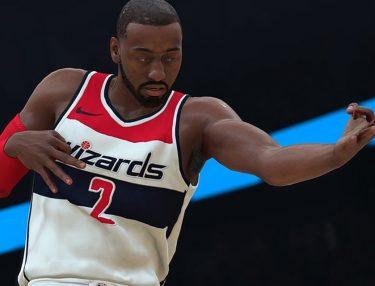 John Wall in NBA 2K18