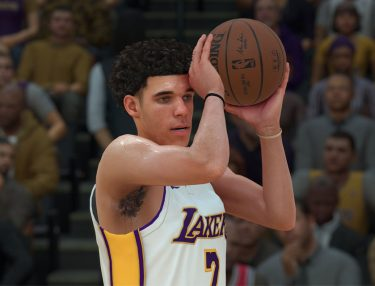 Lonzo Ball in NBA 2K18