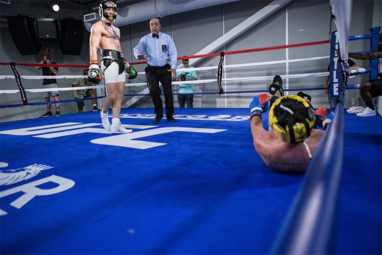 Connor McGregor's sparring partner quits ahead of Mayweather bout