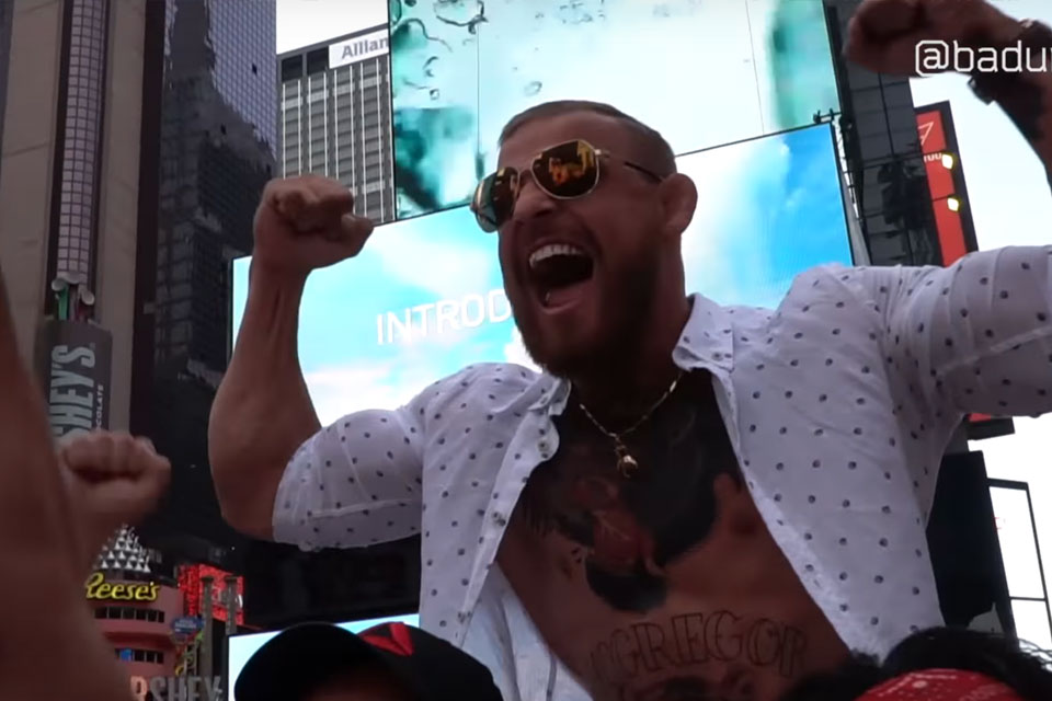 Conor McGregor Lookalike in New York City