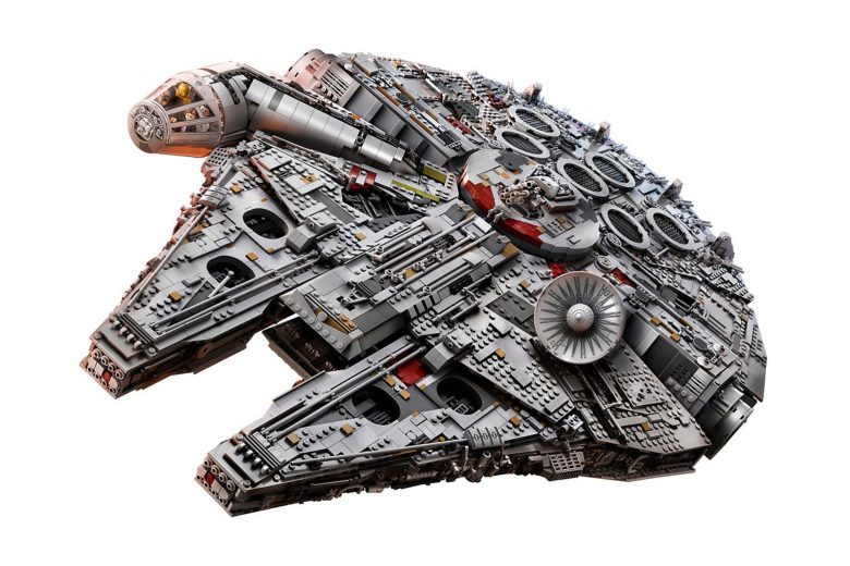 New record-breaking LEGO Millennium Falcon has got it where it counts