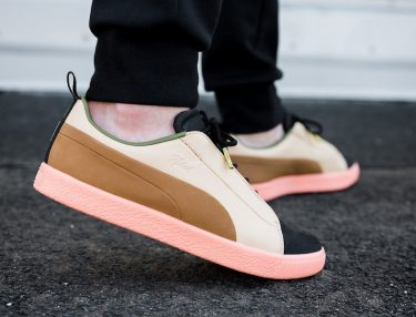 Naturel x PUMA Clyde FSHN Glow in the Dark