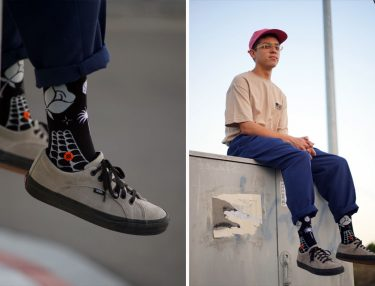 Dropout Club Intl x Stance Launch Sock Collection