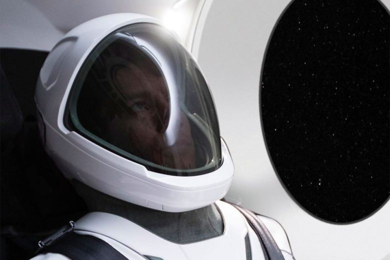 SpaceX teases with new spacesuit design