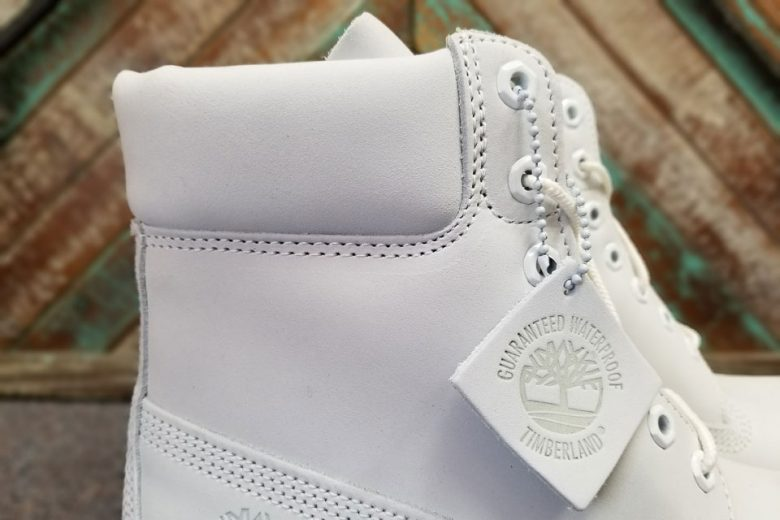 Timberland 6-Inch Boot Ghost White