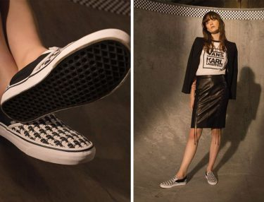 Karl Lagerfeld x Vans Collaboration