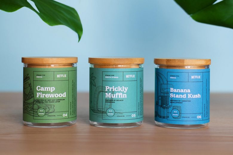 Netflix Launches Weed Strains