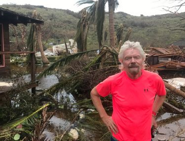 Richard Branson's Caribbean Island Destroyed by Hurricane Irma