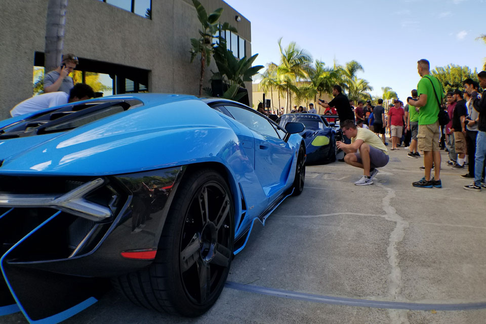 protective film solutions x tilly s life center hypercar show
