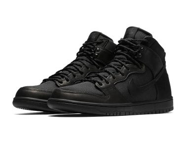 Nike SB Dunk High Triple Black