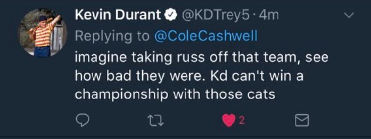 Kevin Durant Has Fake Twitter Account