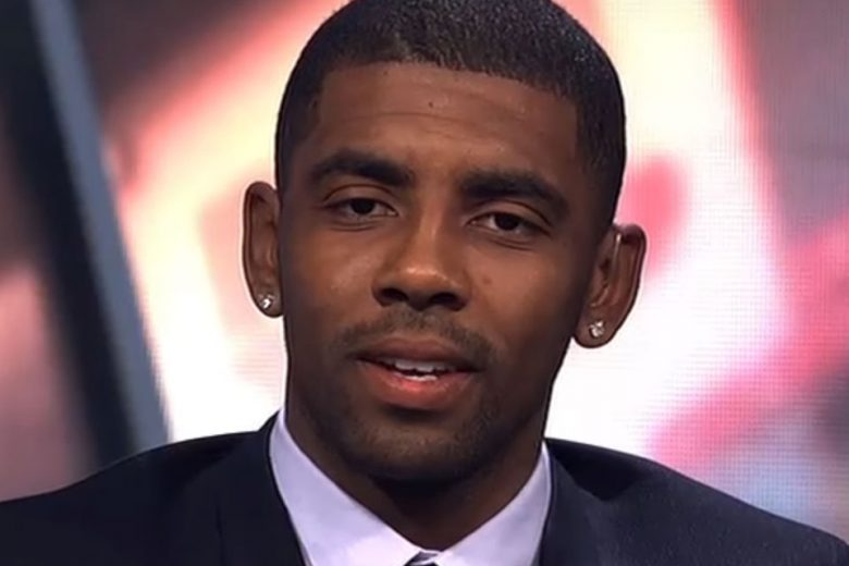 "Kyrie Irving Appears on ""First Take"", Discussing LeBron James & Leaving the Cavs"