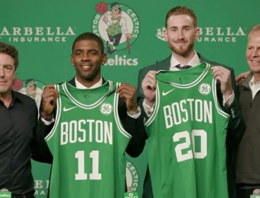 Kyrie Irving and Gordon Hayward