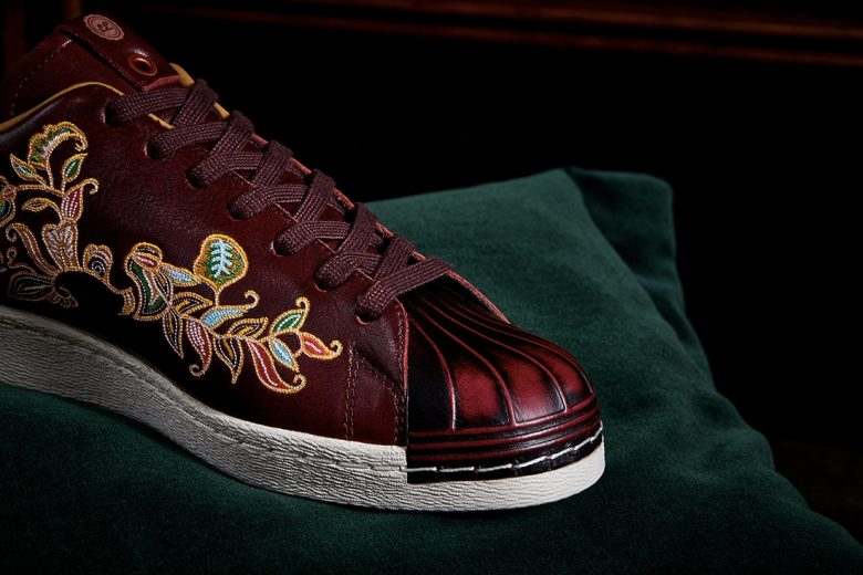 Limited Edt x adidas Consortium Superstar 80 Burnished Burgundy