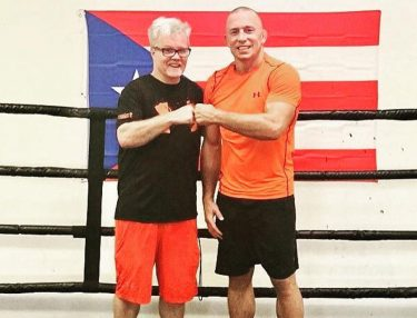 Freddie Roach and Georges St-Pierre