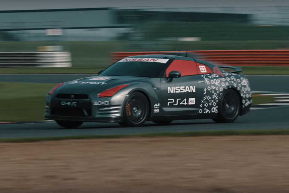 Nissan GT-R Made Into Remote-Controlled Car