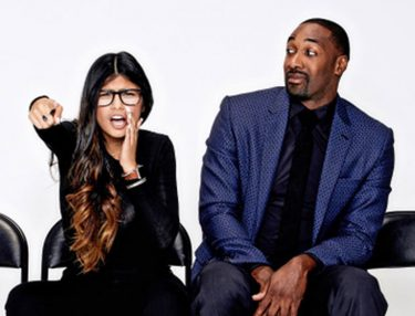 Mia Khalifa and Gilbert Arenas show on Complex