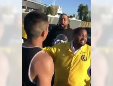 Donald Penn Gets Into Altercation With Fans