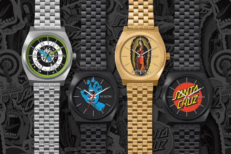 Nixon x Santa Cruz Skateboards watches