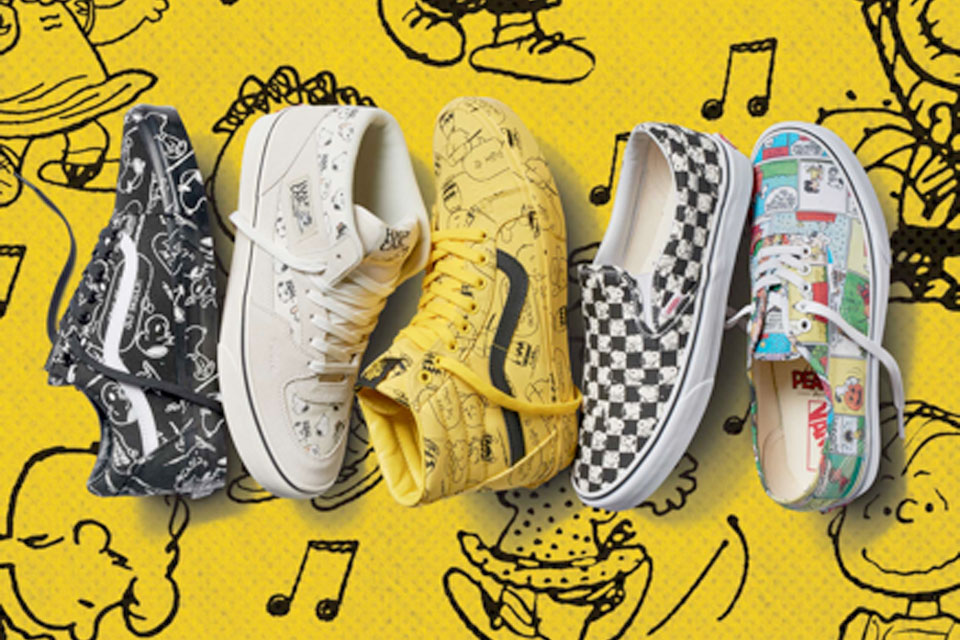Vans Unveils New Footwear & Apparel Collection With Peanuts