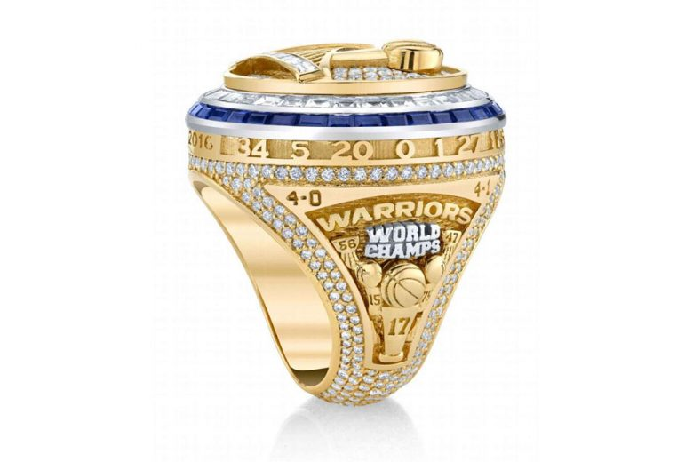 Golden State Warriors 2017 NBA Championship Ring