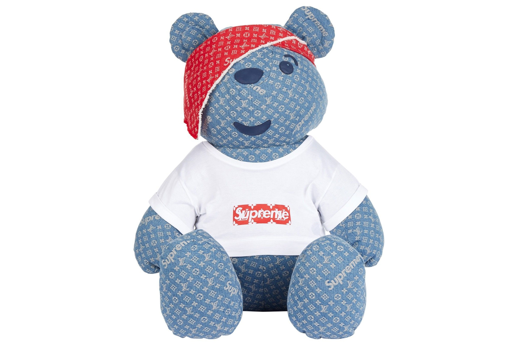Supreme x Louis Vuitton Teddy Bear
