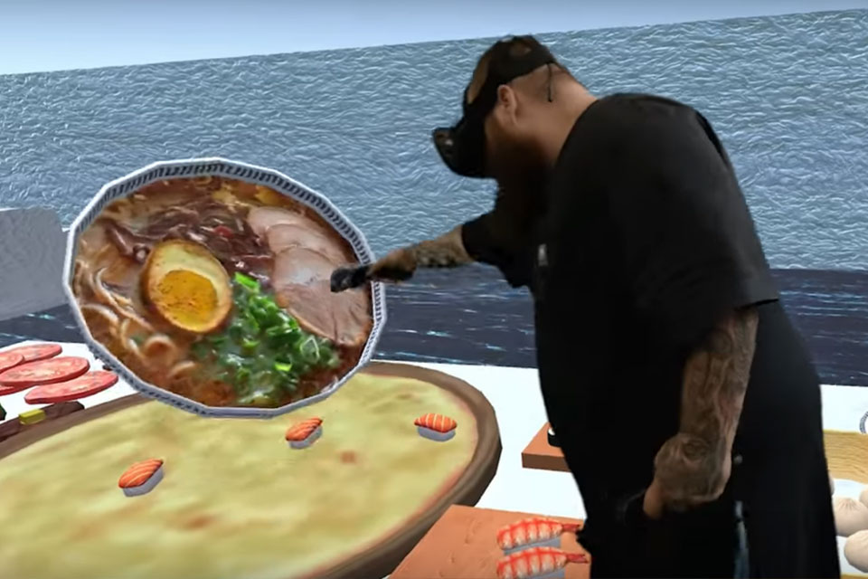 Action Bronson in VR