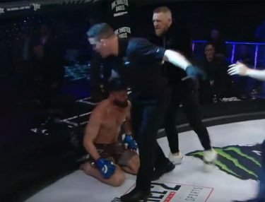 Conor McGregor fight with Bellator Referee