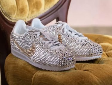 Serena Williams Nike Cortez at her Wedding