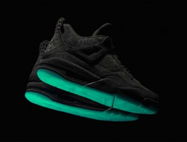 KAWS x Air Jordan 4 Black Cyber Monday