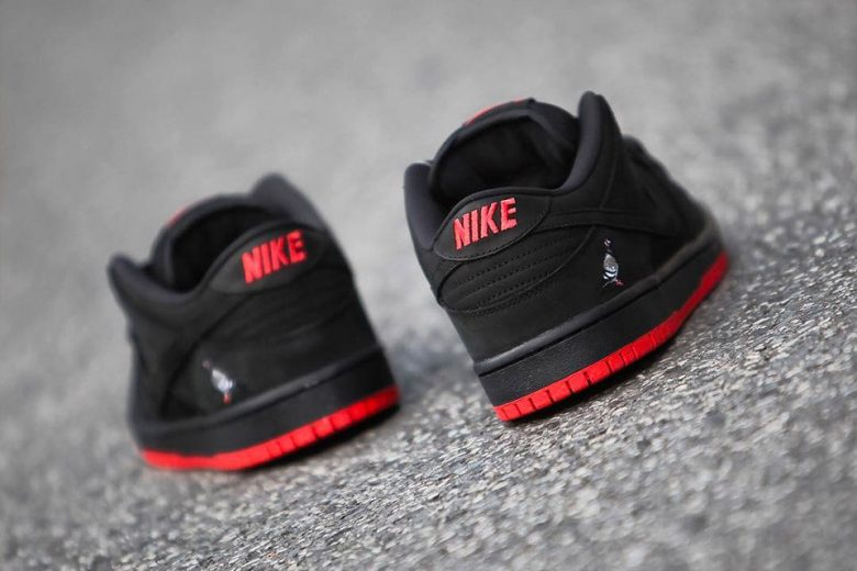 2017 Nike SB Dunk Low Black Pigeon