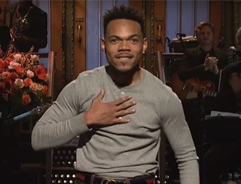 Chance The Rapper hosts SNL