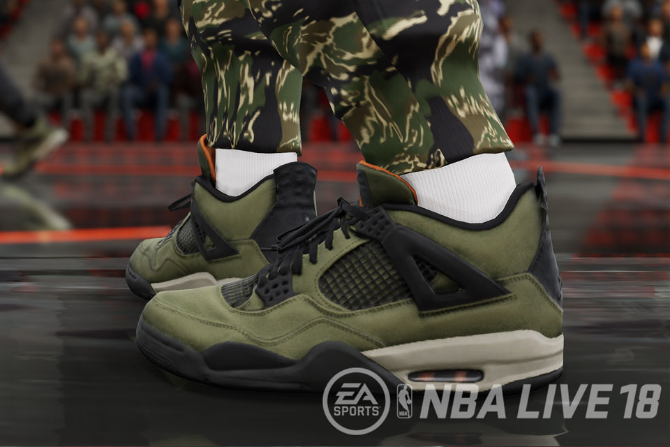 NBA LIVE 18 LIVESTRIKE With Undefeated