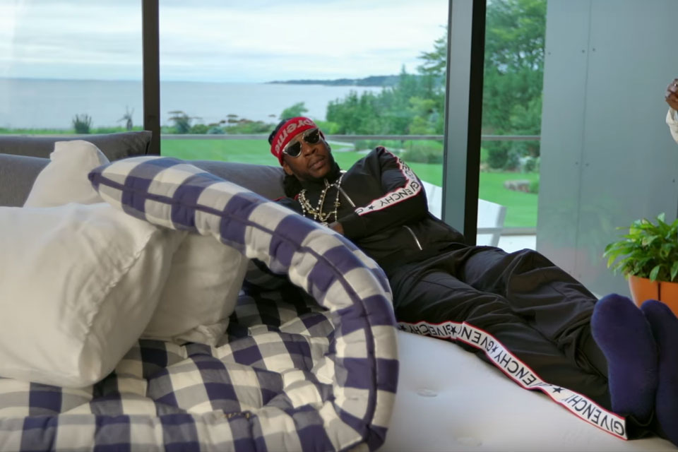2 chainz tries out 150k bed made of horse hair - Mattress made of balls ...