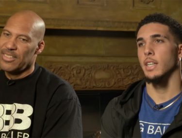 LiAngelo and LaVar Ball TODAY SHOW