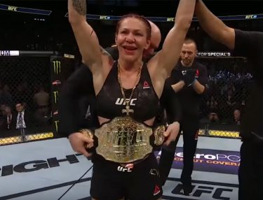 Cris Cyborg Holly Holm UFC 219