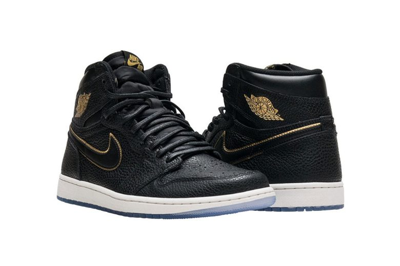 Air Jordan 1 High Black/Gold